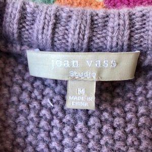 Joan Vass Sweaters - JOAN VASS WOOL SWEATER. EUC SIZE M